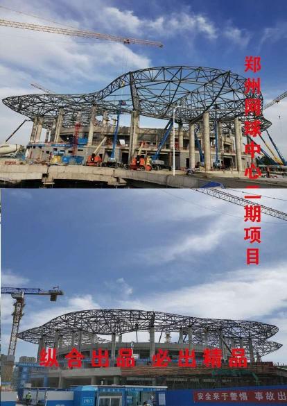 沧州纵合钢构管桁架生产基地